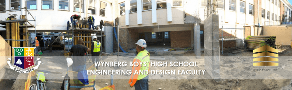 Site Work at Wynberg's Engineering and Design Faculty