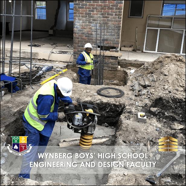 Prep work for Concrete Casting