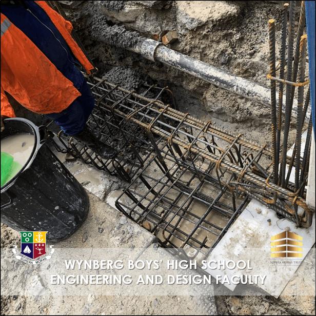 Concrete Column Casting Preparation